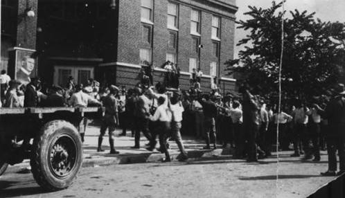 Scene From The Tulsa Race Riot