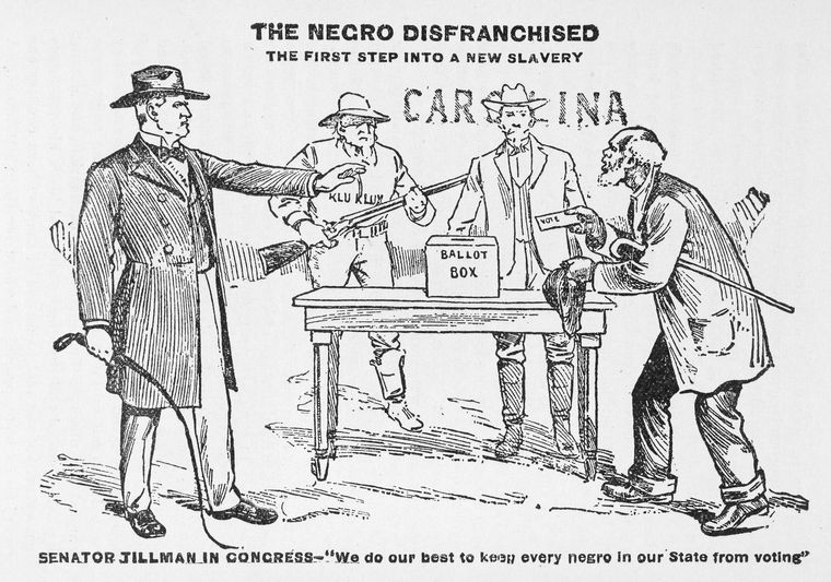 The Negro disfranchised; the first step into a new slavery.