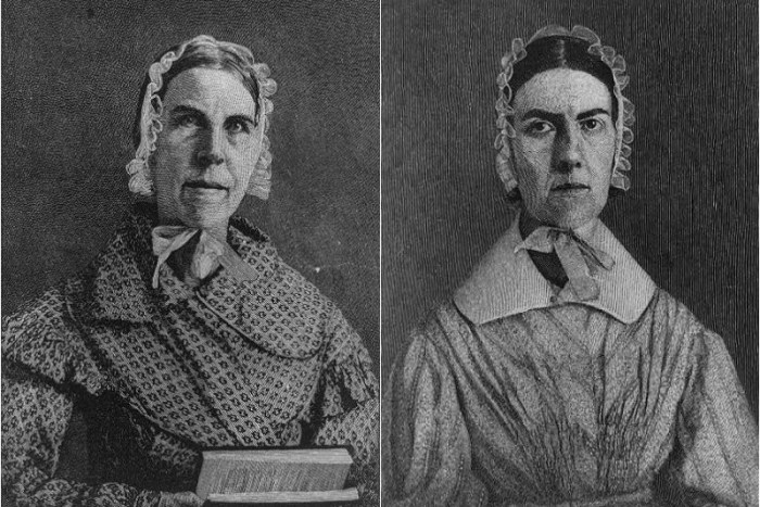 Sarah Moore Grimké and Angelina Emily Grimké