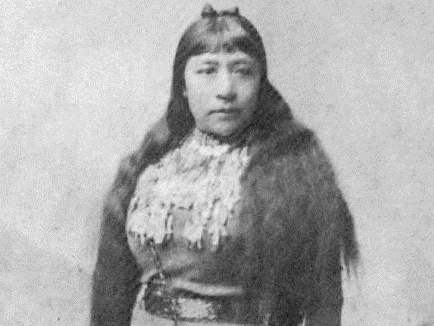 Sarah Winnemucca, first Indian woman to write a book highlighting the plight of the Indian people