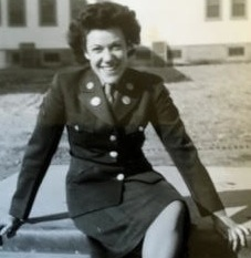 Lenora Young in Service Uniform