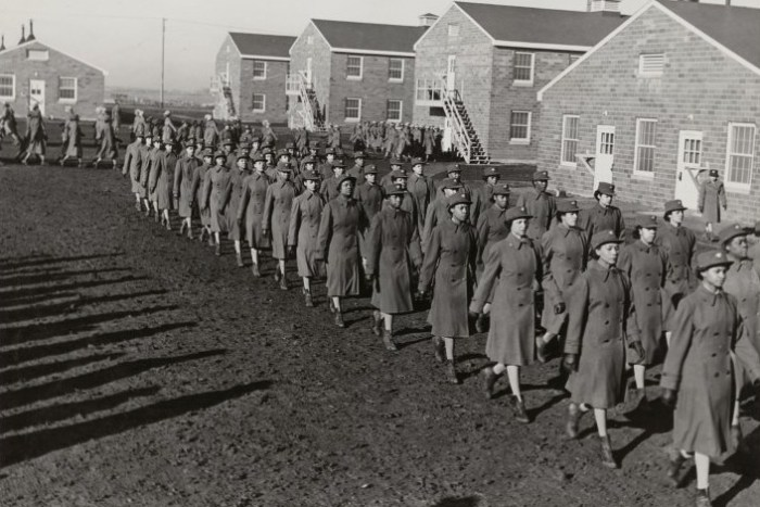 Women's Army Corps in Des Moines, Iowa 1943