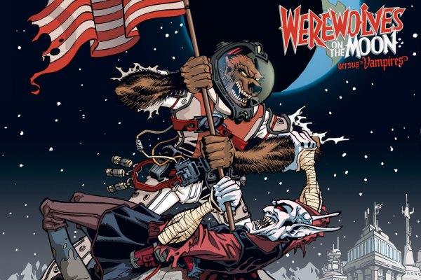 Werewolves on the Moon vs Vampires