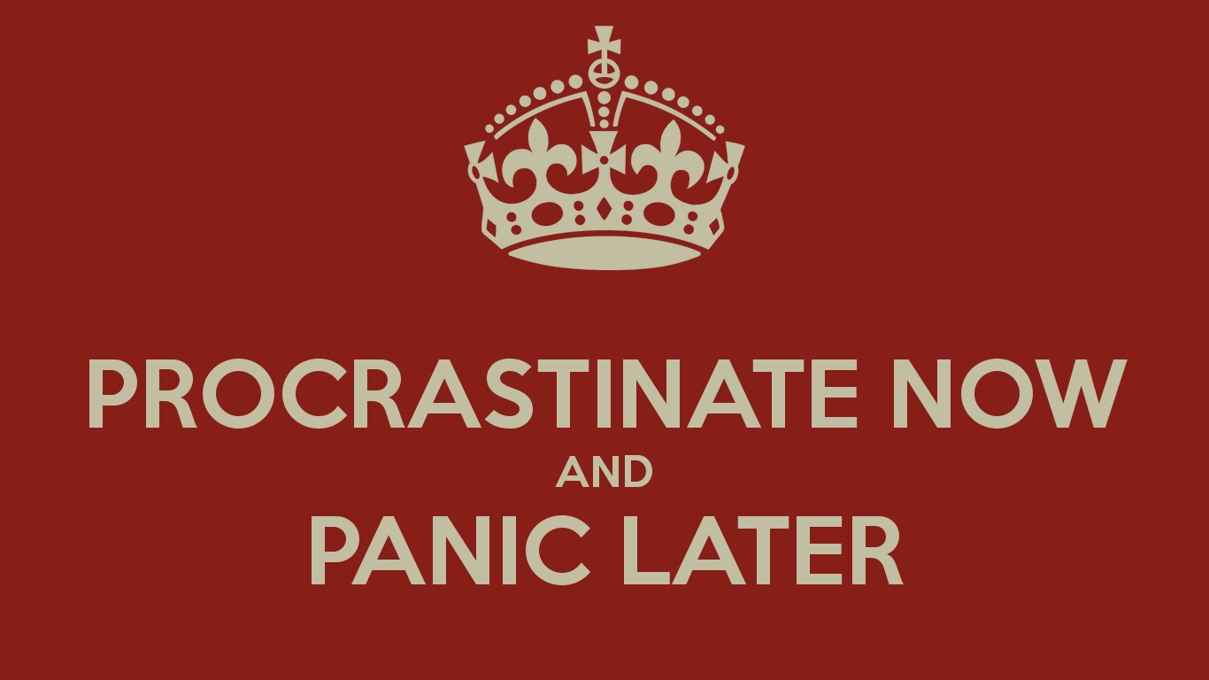 how to avoid procrastination when studying