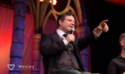 Sean Astin and Billy Boyd- Fantasy Con 2014-9754