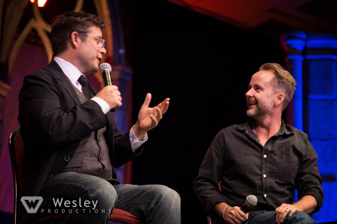 Sean Astin and Billy Boyd- Fantasy Con 2014-9760