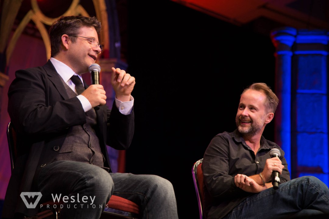 Sean Astin and Billy Boyd- Fantasy Con 2014-9765
