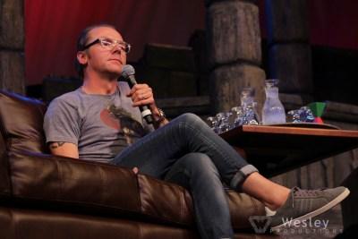 Simon Pegg SLC Fantasy Con 2014 -9707