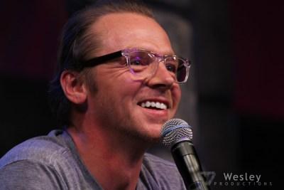 Simon Pegg SLC Fantasy Con 2014 -9722