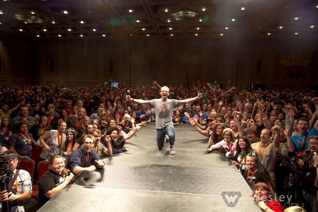 Simon Pegg SLC Fantasy Con 2014 -9871
