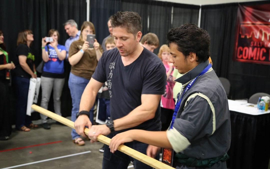 Ray Park – SLC Comic Con 2013
