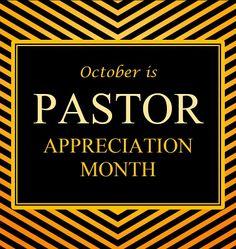 Let's Celebrate our Pastors