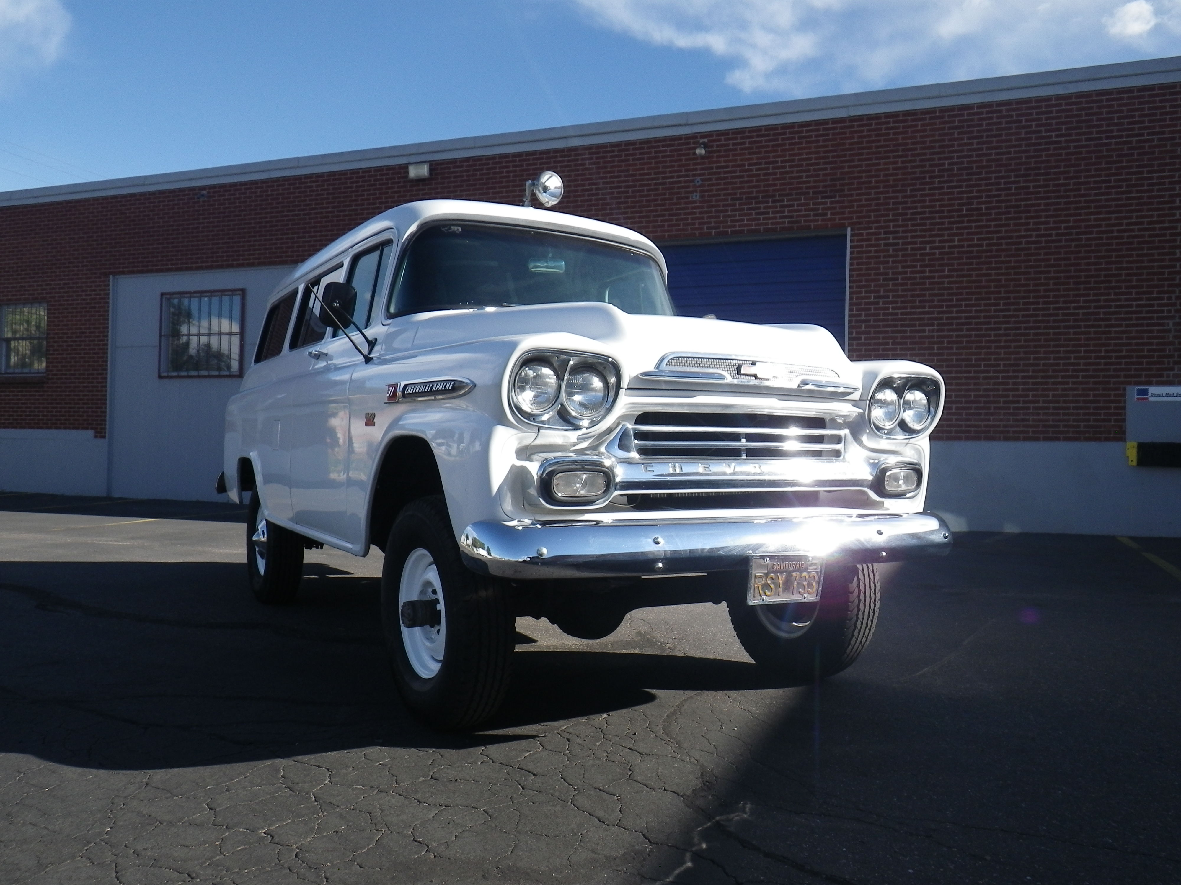 Spotted 1959 Chevy Napco Suburban For Sale West County
