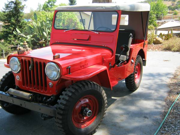 Spotted: 1952 Willys CJ3A Jeep For Sale // West County ...