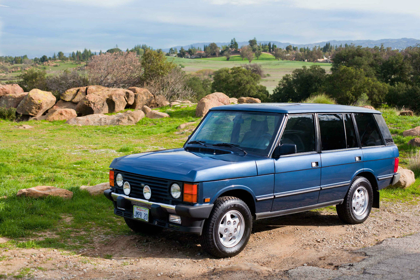 Spotted 1995 Range Rover Classic Lwb For Sale West
