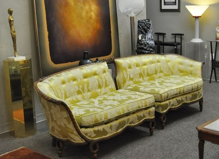 1930's Two Part Sofa
