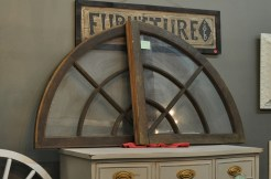 Old Arched Transom Windows
