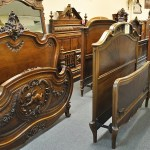 large selection of antique and other beds