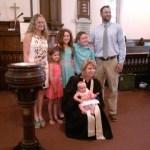 Baptisms of Garvin Children