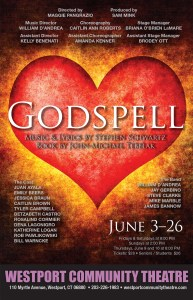 GODSPELL BIG CARD with S