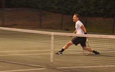 Pro Tennis Exhibition Match