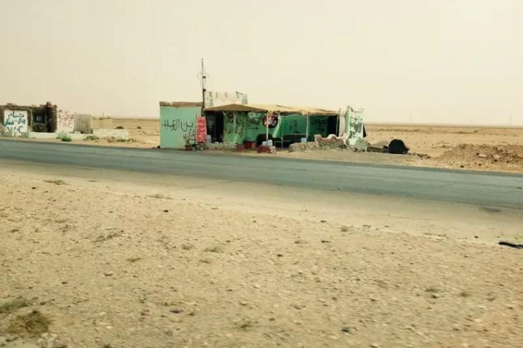 Autobahnraststätte, Jordanien