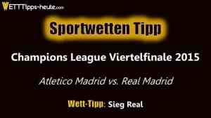 Unser Wett-Tipps zu Atletico Madrid gegen Real Madrid