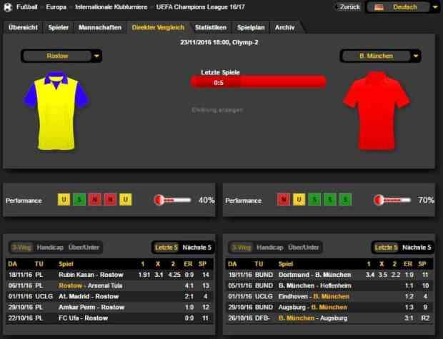 Rostow Bayern 23.11.16 Prognose Bilanz