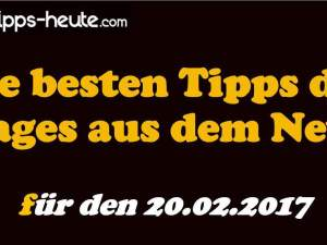 Sportwetten Tipps 20.02.2017