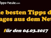 Sportwetten Tipps 04.03.2017