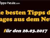 Sportwetten Tipps 26.03.2017