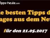 Sportwetten Tipps 21.05.2017