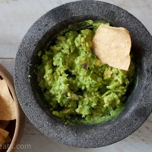 Jalapeño Shallot Guacamole. Molcajete: Not only is it traditionally used for making guacamole and salsa, it can also be used to grind spices.
