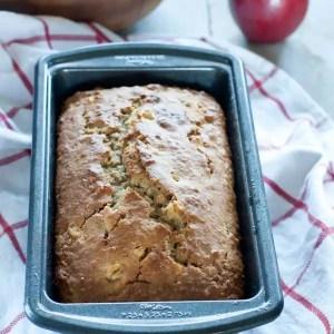 Apple Walnut Bread with Maple Butter.