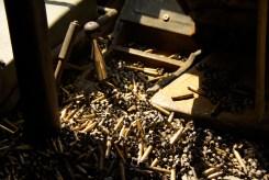 Bullet casings in Vietnam