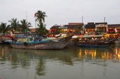 Hoi An Harbour at Dusk