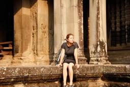 Kristin Butler Angkor Wat