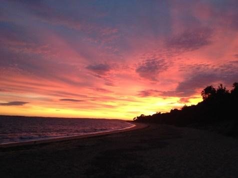 Phillip Island Australia sunrise