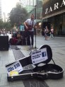 Sydney Street Performer - Joe Moore