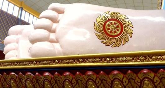 Large Buddha Foot