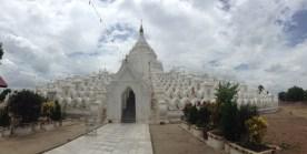White Pagoda Mingun Myanmar