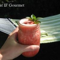 Strawberry-Pineapple Green Tea Smoothie