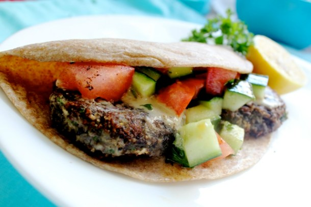 black beans, falafel, kosher recipes, Israeli salad, tahini, Jewish recipes, kosher, vegetarian, vegan