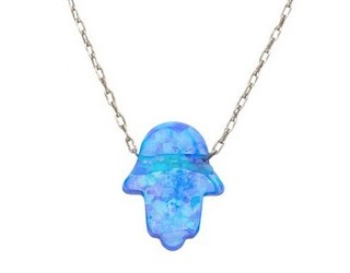 Alef Bet Hamsa Necklace Giveaway!
