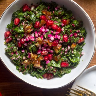 Israeli Chopped Herb Salad (And a Giveaway!)