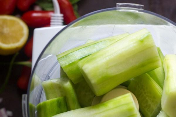 Israeli Salad Gazpacho