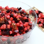 Roasted Beet Charoset