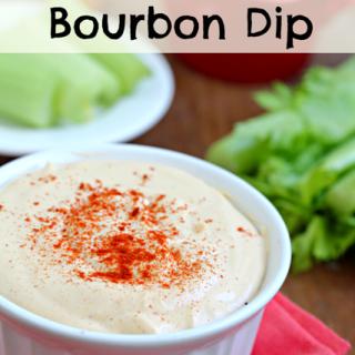 Cheesy Bourbon Horseradish Dip