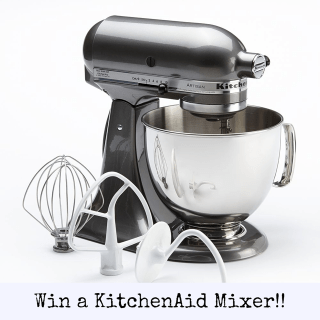 Win a 5 Quart KitchenAid Mixer!! (Giveaway!!)