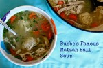Matzah (Matzo) Ball and Chicken Soup